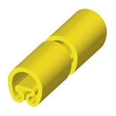 UNEX 1852-M Manguito PVC plástico para diámetro 4-8 25mm amarillo