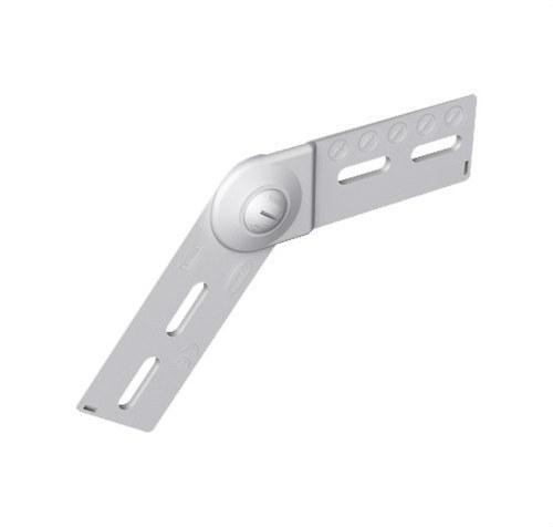 Bisagra PVC-M1 U23X altura 100 gris