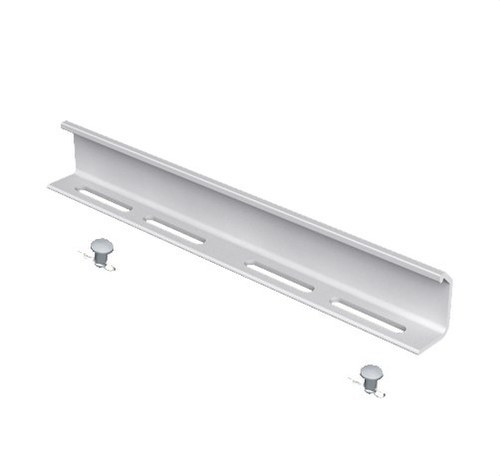 Unión tramos PVC-M1 U23X altura 100 gris