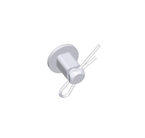 Perno unión PVC M1 U23X gris