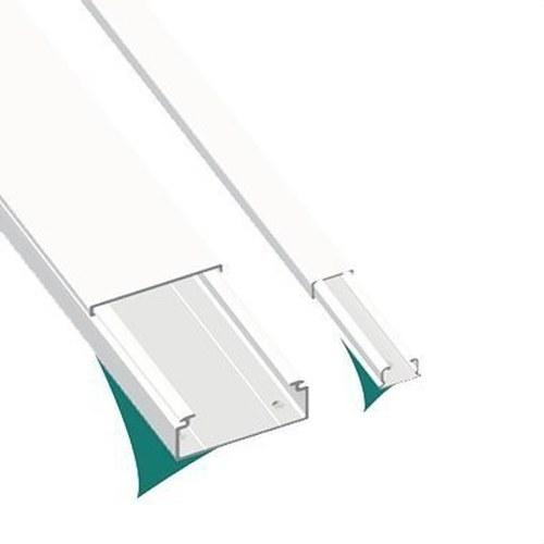 Moldura sin tabique 78 PVC-M1 7x12 U23X blanco nieve