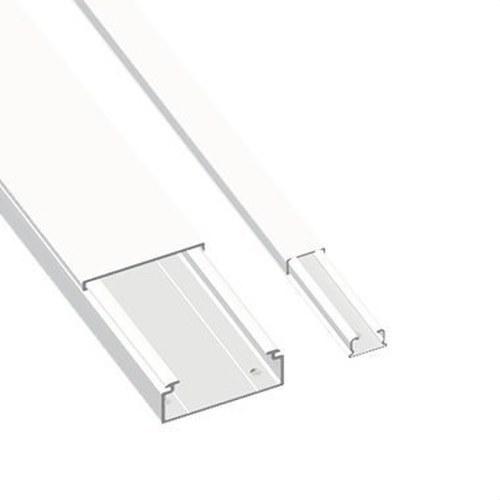 Moldura sin tabique 78 PVC-M1 10x30 U23X blanco nieve