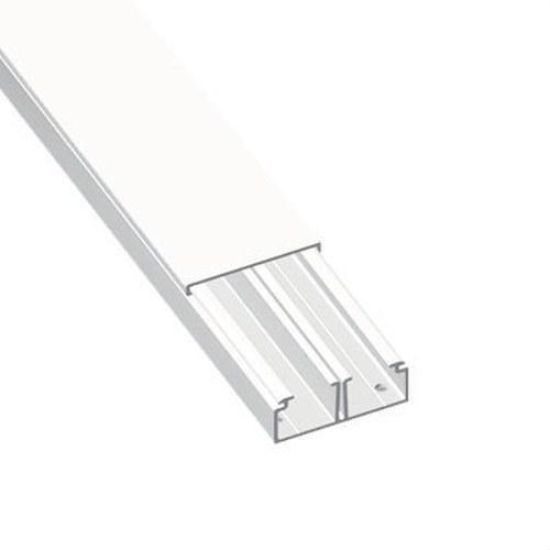 Moldura con tabique 78 PVC-M1 16x30 U23X blanco nieve
