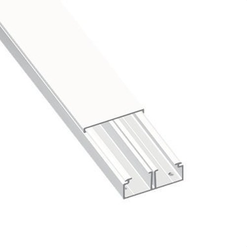 Moldura con tabique 78 PVC-M1 20x30 U23X blanco nieve