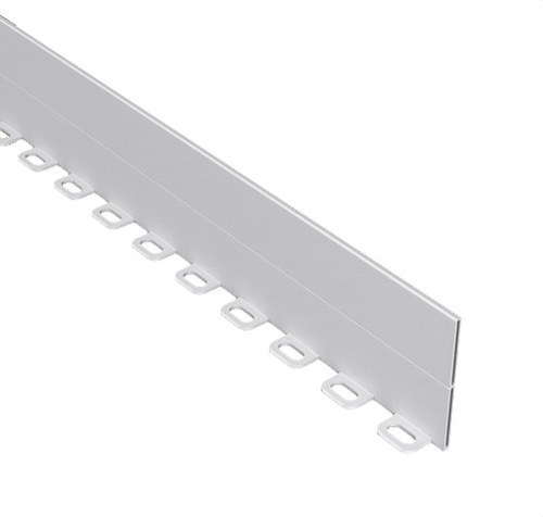 Tabique separador 100 PVC-M1 U23X gris RAL7030