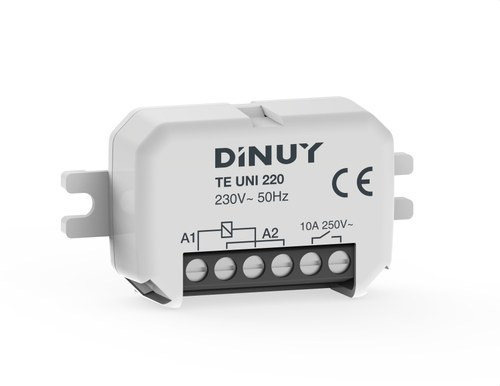 Telerruptor unipolar 1x10A 230V
