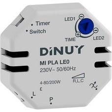 DINUY MI PLA LE0 Minutero electrónico caja de mecanismo 2 hilos para lámparas led