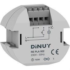 DINUY RE PLA 002 Regulador intensidad 800W incandescente 560W halógena