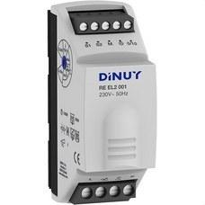 DINUY RE EL2 001 Regulacion intensidad 2 módulo 1000W rail DIN