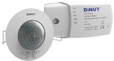 DINUY DM TEC 002 DETECTOR TECHO EMPOTRAR 2 CANALES 360 DIAMETRO 6,6m