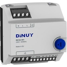 DINUY RE EL5 001 REGULADOR INTENS.5 MOD.1000W RAIL DIN