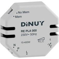 DINUY RE PLA 000 Regulador intensidad 400W incandescente 320W halógena