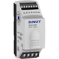DINUY RE EL2 000 Regulacion intensidad 1 módulo 1000W rail DIN