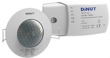 DINUY DM TEC 004 DETECTOR TECHO EMPOTRAR 1 CANAL 360 DIAMETRO 6,6m
