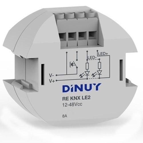 Regulador pastilla tiras led 1 canal 12-48V