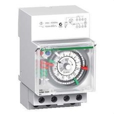 SCHNEIDER ELECTRIC 15337 Interruptor horario analógico IH 24h con 3 módulos 150h 2C-10A