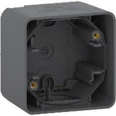 SCHNEIDER ELECTRIC MUR37911 Caja MUREVA STYL gris para instalación en superficie horizontal (IP55)