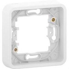 SCHNEIDER ELECTRIC MUR39107 Marco 1 elemento componible MUREVA STYL blanco para instalación en superficie o empotrada (