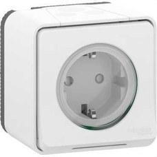 SCHNEIDER ELECTRIC MUR39206 Base enchufe schuko de la gama MUREVA STYL color blanco