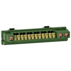 SCHNEIDER ELECTRIC R9H13409 BORNE TIERRA 15 AGUJEROS PARA COFRET RESI9