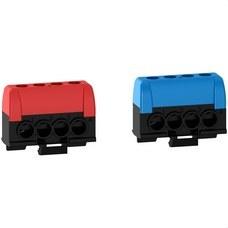 SCHNEIDER ELECTRIC R9H13405 BORNE FASE / N 4 AGUJEROS PARA COFRET RESI9