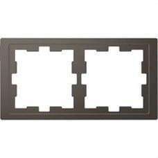 SCHNEIDER ELECTRIC MTN4020-6534 Marco de 2 elementos D-LIFE para montaje vertical y horizontal de color antracita ref. MTN4