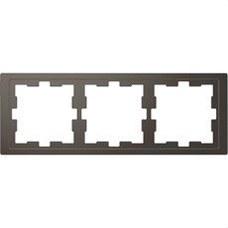 SCHNEIDER ELECTRIC MTN4030-6534 Marco de 3 elementos D-LIFE para montaje horizontal y vertical en policarbonato antracita b