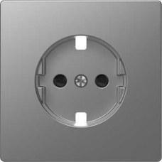 SCHNEIDER ELECTRIC MTN2330-6036 Tapa para base schuko 16A D-LIFE de color aluminio en policarbonato mate