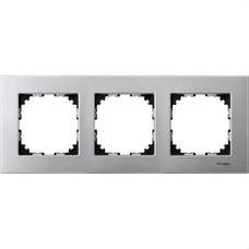 SCHNEIDER ELECTRIC MTN4030-3160 Marco 3 elementos ELEGANCE aluminio