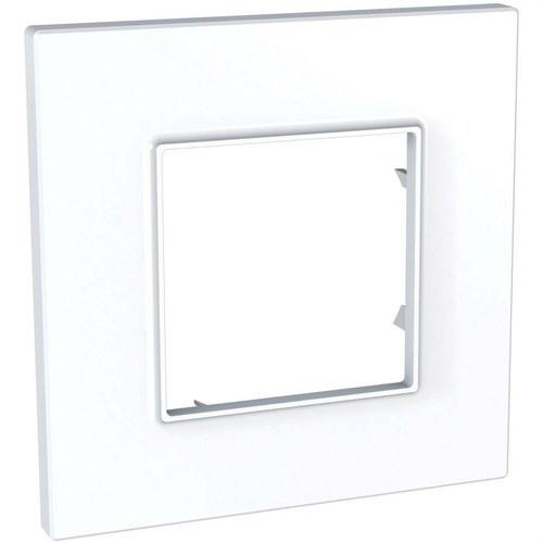 Marco 1 elemento Unica Quadro blanco polar