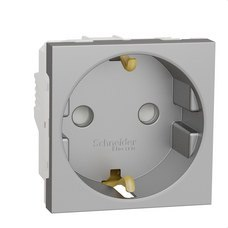 SCHNEIDER ELECTRIC NU303730 Schuko NU303730 aluminio