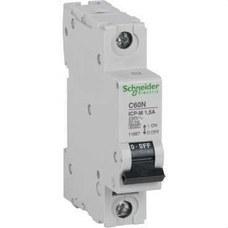 SCHNEIDER ELECTRIC 11887 Interruptor magnetotérmico C60N ICP-M 1P 1,5A