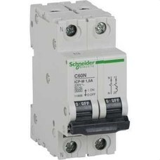 SCHNEIDER ELECTRIC 11910 Interruptor automático control potencia C60N ICP-M 1P+N 7,5A