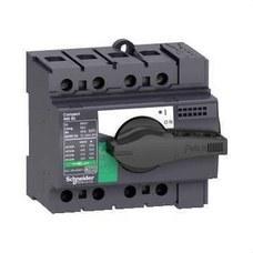 SCHNEIDER ELECTRIC 28905 Interruptor / seccionador COMPACT 80A 4P empotrable negro