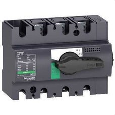 SCHNEIDER ELECTRIC 28908 Interruptor / seccionador COMPACT 100A 3P empotrable negro