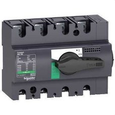 SCHNEIDER ELECTRIC 28909 Interruptor / seccionador COMPACT 100A 4P empotrable negro
