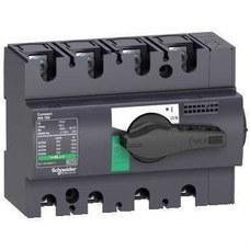 SCHNEIDER ELECTRIC 28911 Interruptor / seccionador COMPACT 125A 4P empotrable negro