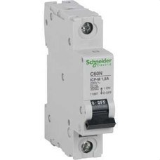 SCHNEIDER ELECTRIC 11900 Interruptor automático control potencia C60N ICP-M 1P 50A