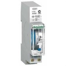 SCHNEIDER ELECTRIC 15331 Interruptor horario analógico IH 7 días con 1 módulo 100h 1C-16A