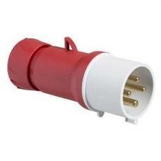 SCHNEIDER ELECTRIC PKE32M434 Clavija aérea 32A 3P+TT 380-415V IP44 tornillo