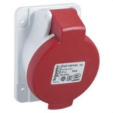 SCHNEIDER ELECTRIC PKF16F434 Base empotrar inclinada 16A 3P+TT 380-415V IP44
