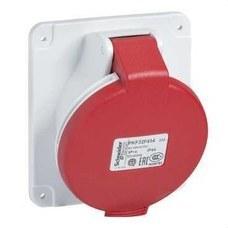 SCHNEIDER ELECTRIC PKF32F434 Base empotrar inclinada 32A 3P+TT 380-415V IP44