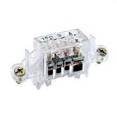 SCHNEIDER ELECTRIC 10955 Borne auxiliar con 4 agujeros PRAGMA-UP