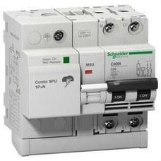 SCHNEIDER ELECTRIC 16301 Protector combinado sobretensión COMBI SPU 1P+N 25A