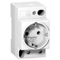 SCHNEIDER ELECTRIC A9A15310 Toma corriente 2P+TT lateral 250V estándar alemán schuko