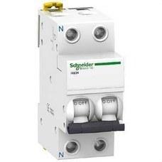 SCHNEIDER ELECTRIC A9K17610 Interruptor automático magnetotérmico iK60N 1P+N 10A curva-C