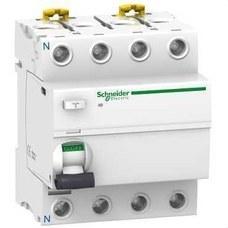 SCHNEIDER ELECTRIC A9R84425 Interruptor diferencial IDD 4P 25A 300mA clase-AC