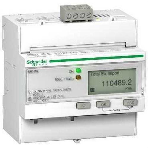 CONTADOR ENERGIA IEM3255 kWh MEDIDA CON TIS EXTERIOR