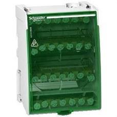SCHNEIDER ELECTRIC LGY410028 Repartidor modular 4P 100A con 28 conexiones