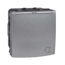SCHNEIDER ELECTRIC MGU3.037.30TA Base 2P+TT lateral con protección aluminio módulo ancho